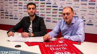 Zulte Waregem annonce l'arrivée de Faik en provenance de l'Excelsior Rotterdam