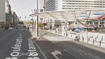 Fauché par un automobiliste sur Boulevard du Jardin Botanique, face à la Place Rogier, le piéton est décédé sur place.