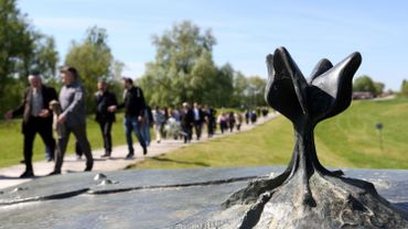 Le mémorial de Jasenovac le 15 avril 2016