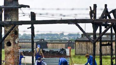 Le camp d'extermination nazi allemand de Majdanek, en Pologne