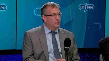 Pierre-Yves Jeholet, ministre de l'Économie et de l'Emploi