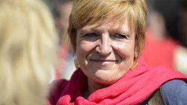 """Mercredi, à Namur, Anne Demelenne a aussi regretté l'attitude de """"ceux qui détiennent les capitaux"""" et """"n'investissent plus dans l'économie réelle"""""""