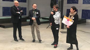 """Pierre-Olivier Rollin et """"Les Audacieux"""" remportent le prix aKCess 2018"""