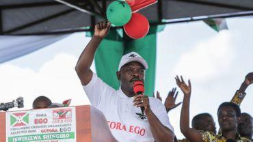 """Le président, Pierre Nkurunziza, en campagne pour le """"Oui"""" à la réforme constitutionnelle"""