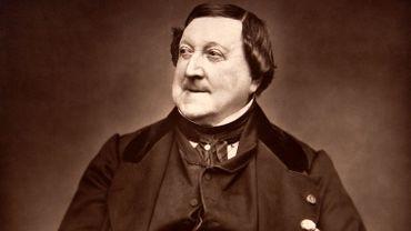 Gioachino Rossini, photographie d'Étienne Carjat