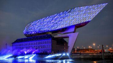 10.000 personnes au week-end d'ouverture de la nouvelle maison du port d'Anvers