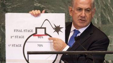 Le Premier ministre israélien Benjamin Netanyahu le 27 septembre 2012 à New York