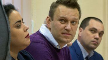 Le principal opposant au Kremlin, Alexeï Navalny, candidat à la présidentielle de 2018