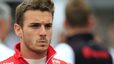 Jules Bianchi, pilote de Formule 1 pour l'écurie Marussia.