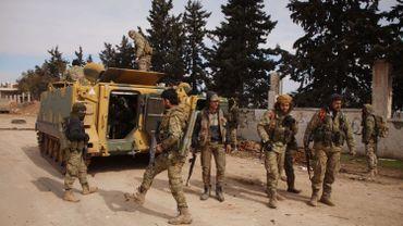 """La Turquie a lancé l'opération """"Bouclier de Printemps"""" contre le régime de Damas."""