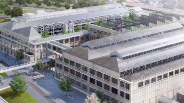Le futur site réaménagé des  ateliers centraux