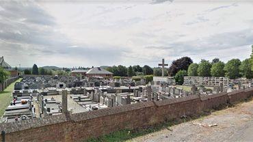 Le cimetière de Courcelles