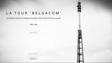 """Un webdoc sur """"la tour Belgacom"""" de Vedrin"""