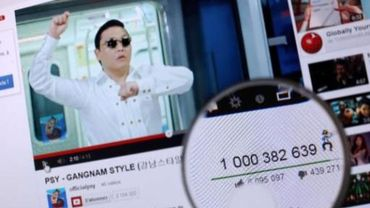 Video de Psy sur Youtube