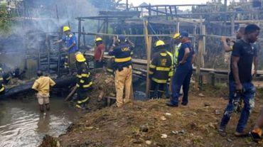 Nigeria: un pasteur confond eau bénite et essence, énorme explosion à Lagos