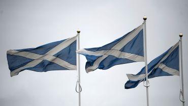 Le drapeau écossais