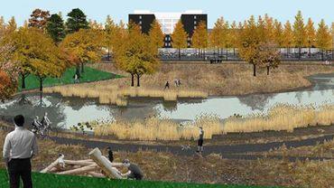Le projet du futur Grand Hôpital de Charleroi à Gilly