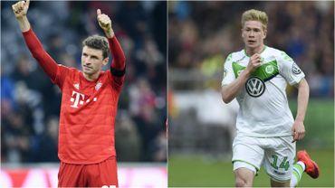 Thomas Müller délivre son 21e assist en Bundesliga et égale le record de Kevin de Bruyne