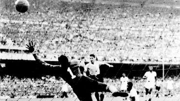 Illustration de l'équipe uruguayenne au Mondial 1950