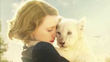 "L'affiche de ""The Zookeeper's wife"""