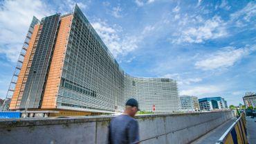 Le bâtiment de la Commission européenne à Bruxelles