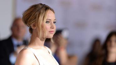 """Jennifer Lawrence tourne actuellement """"Joy"""", son troisième film avec le réalisateur David O. Russell"""