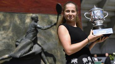 Ostapenko, lauréate de Roland-Garros 2017, Sportive de l'année en Lettonie