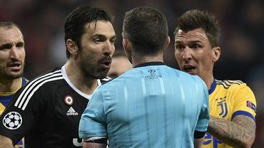 Gianluigi Buffon exclu lors du dernier Real Madrid-Juventus