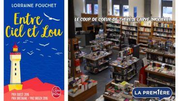 """""""Entre ciel et lou"""" : le coup de cœur de Thérèse Labye, libraire chez Molière à Charleroi"""