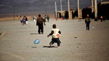 Un camp de réfugiés près de la ville iranienne de Saveh, le 8 février 2015