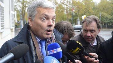 Le ministre MR Didier Reynders