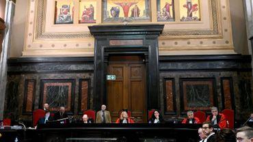 La cour d'assises de Bruxelles