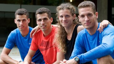 Kevin, Jonathan, Olivier, Dylan Borlée
