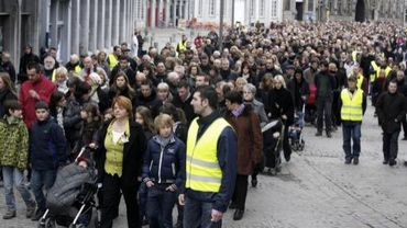 Marche silencieuse organisée dimanche 13 février à Mons en hommage aux victimes de Buizingen