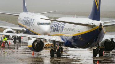 Des avions de Ryanair