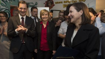Alexander De Croo et l'ambassadrice des Etats-Unis ouvrent la nouvelle édition de Molengeek
