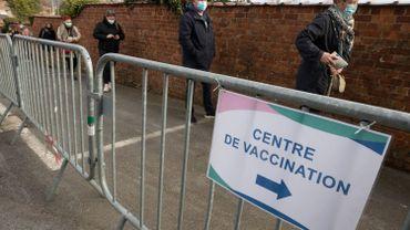 Accès à l'un des centres de vaccination en Wallonie