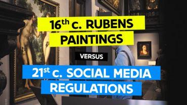 Toerisme Vlaanderen lance une action ludique contre la censure artistique sur Facebook