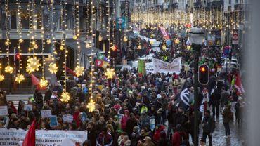 Près de1000 manifestations à Bruxelles en2018