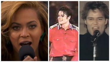 Beyonce, Michael Jackson et Ricky Martin: ces stars amies des présidents américains.