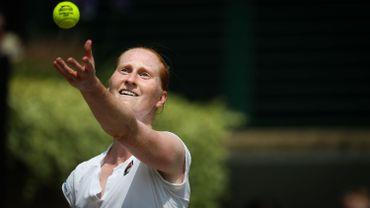 """Van Uytvanck, éliminée en 1/8e de finale à Wimbledon: """"Je peux rentrer à la maison la tête haute"""""""