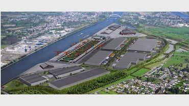 L'idée du projet est de faire du bassin liégeois un carrefour crucial en termes de transport de marchandises.