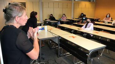 Huit étudiants atteints de surdité suivent pour l'instant des cours à la Haute Ecole Condorcet
