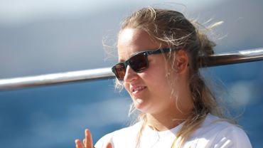 Emma Plasschaert remonte à la quatrième place de l'Euro de voile