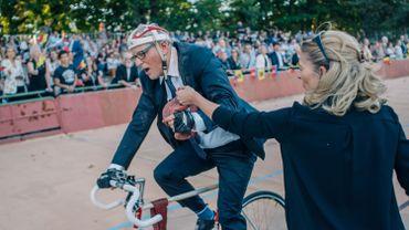 Jan Fabre parvient à ne pas battre le record du monde de l'heure d'Eddy Merckx
