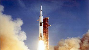 La fusée Apollo 11.