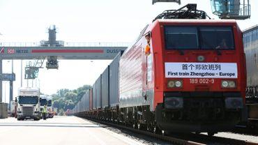 Deutsche Bahn: hausse du fret jusqu'en Chine, sur la plus longue ligne de train au monde