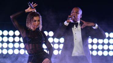 Beyoncé et Jay-Z en concert