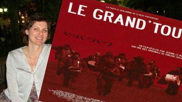 """Benjamine De Cloedt, à l'époque où elle était co-scénariste et co-productrice du long metrage """"Le Grand Tour"""""""