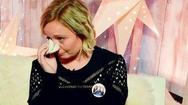 Ophélie Fontana, en larmes, attend votre soutien!
